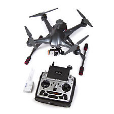 SCOUT X4 Carbon FPV with DEVO F12E radio (m2), gimbal & Ilook+ - WALSCOUTX4BK-RTF2