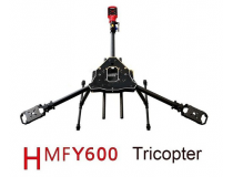 HMF Y600 3-Axis Frame Kit with Landing Gear & Gimbal Suspension Kit - EMX-MR-1513-TBC