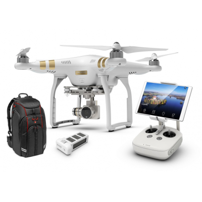Combo Phantom 3 Professional + 2e batterie + BackPack DJI - BDL-PH3PBATBACK