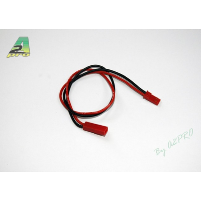 Rallonge 27cm BEC - cable silicone 0,50mm² A2PRO