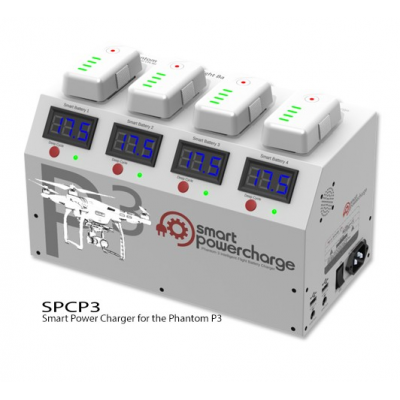Smart Power Charge Phantom 3 Charging Station - SPCP3