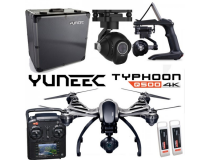 Yuneec Q500-4K Black edition incl CG03(4K) + 2 batteries + ST10 + Steadygrip + Case Alu - YUNQ502ARTFEU