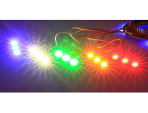 Jeu de 10 platines de LED multicolors - BGD-243992