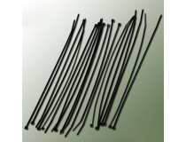 Collier nylon noir 2,5x200mm (20 pcs)