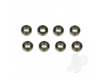 Shadow 240 Bearing Set 6x3x2mm (8) by Ares